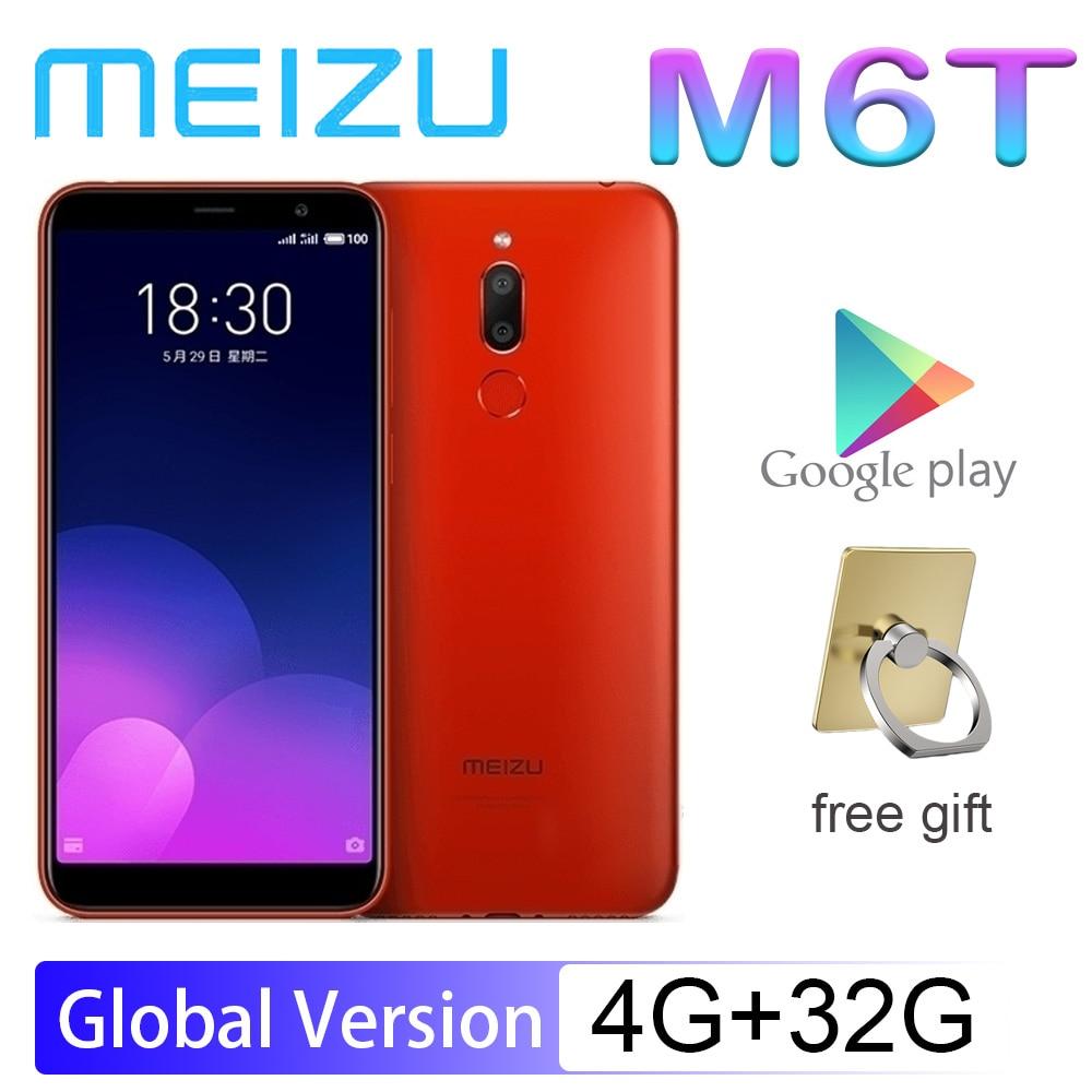 Smartphone 98%New MEIZU M6T 4G 32G 5.7'' Full Screen Rear Dual Camera Global Version MT6750 Super MBack Ingerprint Payment