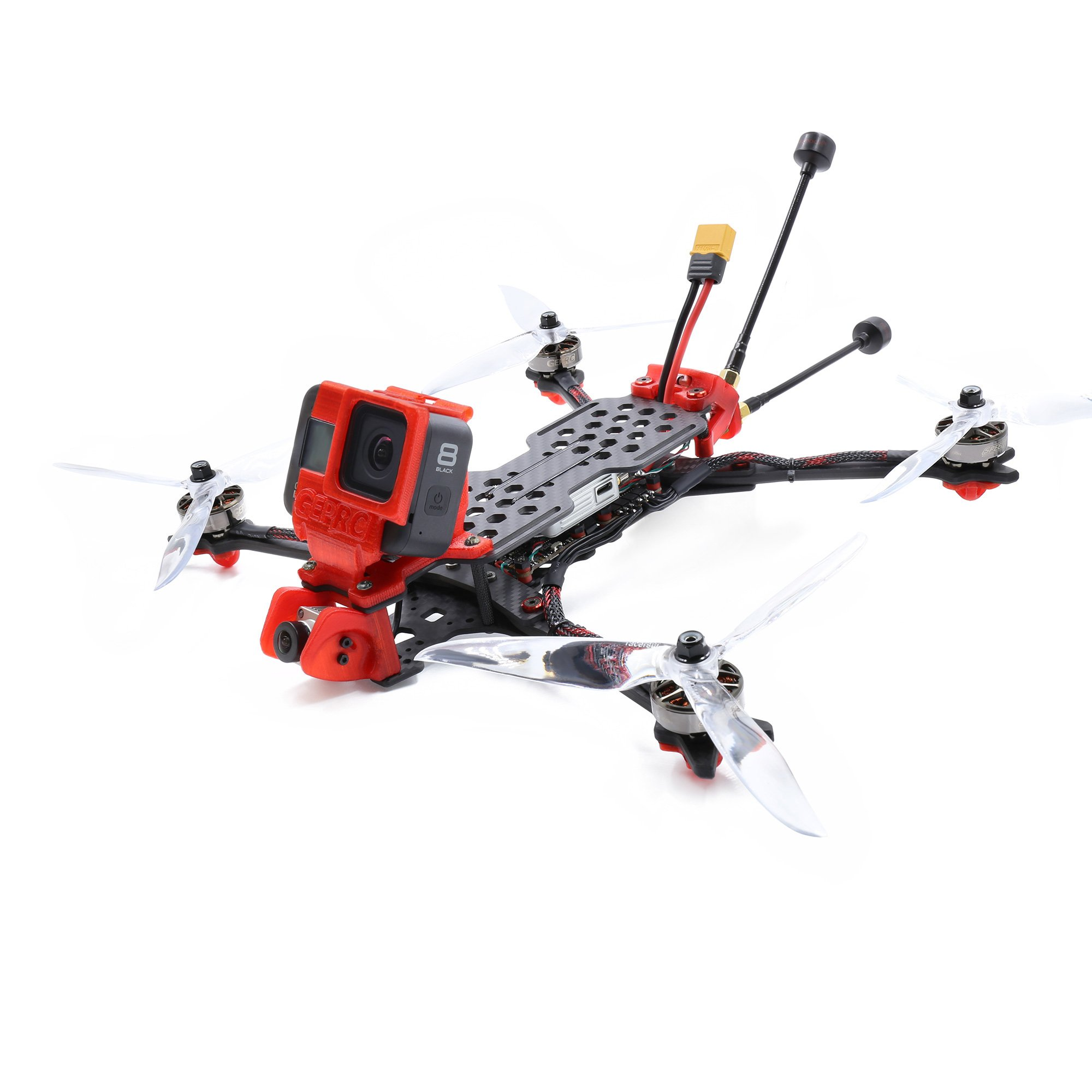GEPRC Crocodile7 HD زائد لايت فترة F722 HD BLHELI32 50A FPV الهواء وحدة CADDX فيستا HD GR2306.5 1350KV 6S LR7 FPV طويلة المدى Drone