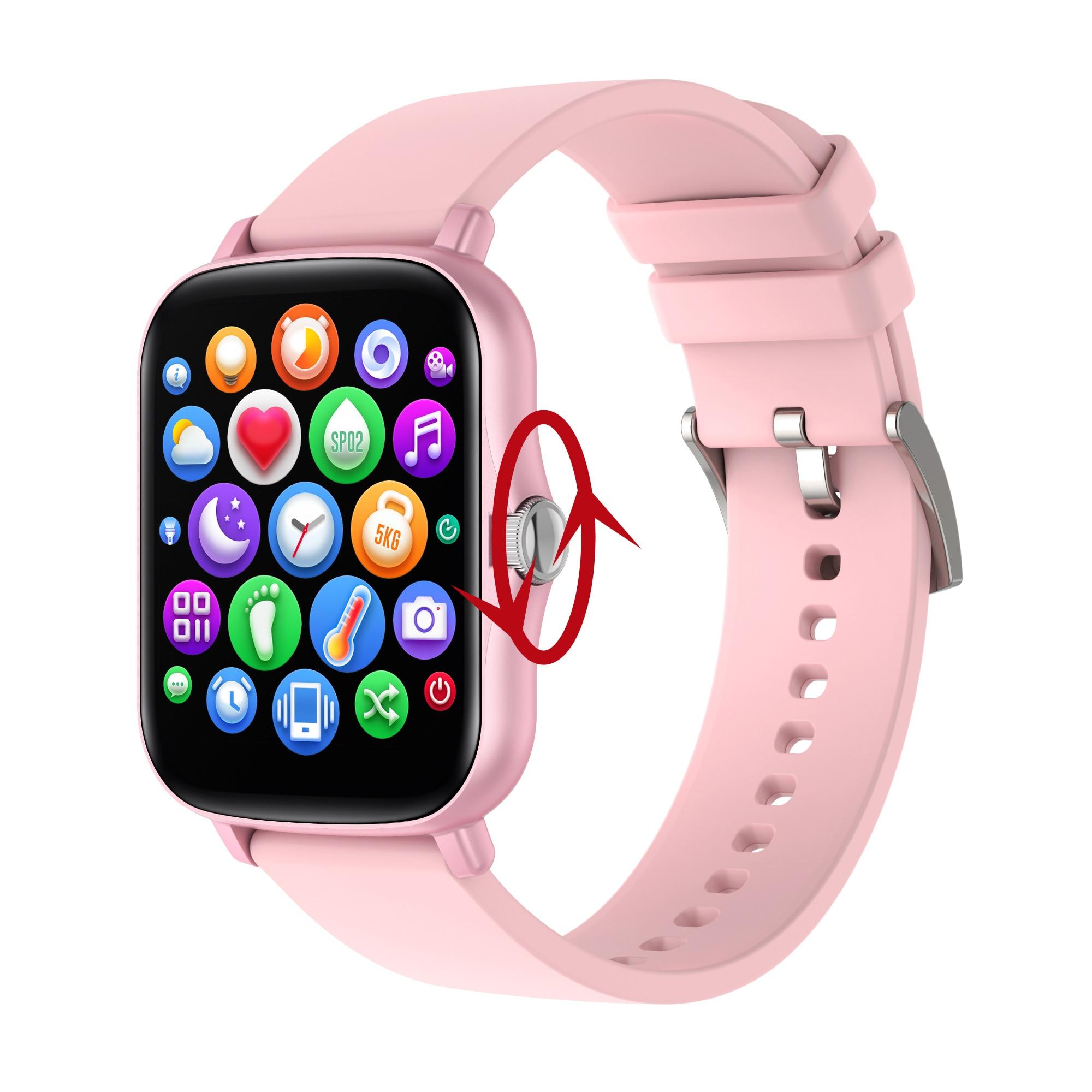 Мужские и женские умные часы 2021, часы с Push-уведомлениями, Bluetooth, 8 спортивных режимов, фитнес-трекер, умные часы, часы