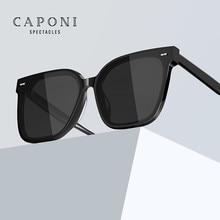 CAPONI Fashion Design Trend Sun Glasses Oversized Frame Style Sunglasses For Men Driving Polaroid An