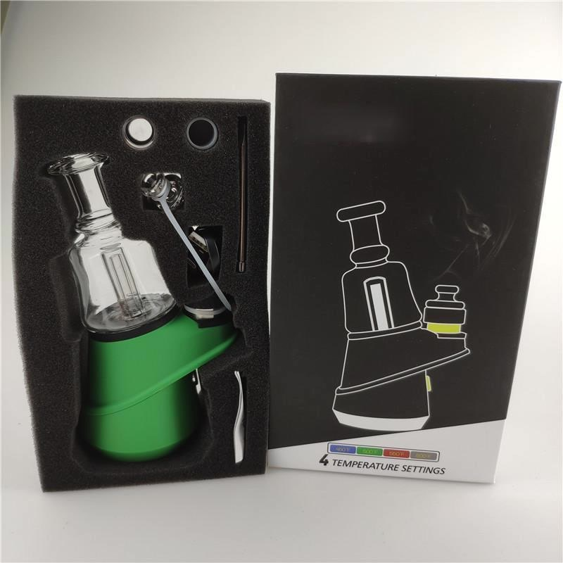New Electric Dab Rig Starter Kit 2600mah Battery 4 Heat Settings Enail Wax Concentrate Shatter Budder Dab Rigs hookah tips enlarge