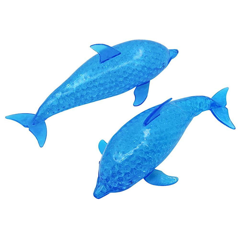 Toys For Adult Children Decompression Spongy Dolphin Sharks Antistress Squishy Bead Stress Ball Toy Squeezable Stress Relief Toy enlarge