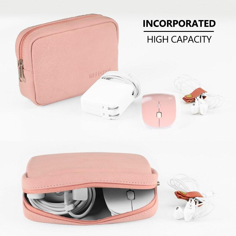 BESTCHOI, pequeña bolsa para portátil, para banco de energía, ratón, bolsa impermeable para ordenador portátil, para apple macbook, portátil, Pow