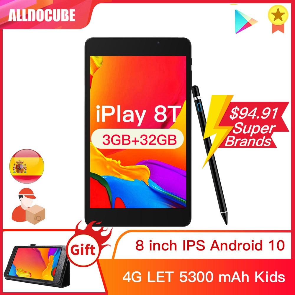 Alldocube iPlay 8T 8 بوصة 3GB RAM 32GB ROM الهاتف أقراص أندرويد 10.0 أطفال اللوحي 4G واي فاي LTE 9832E phonecall iPlay8T