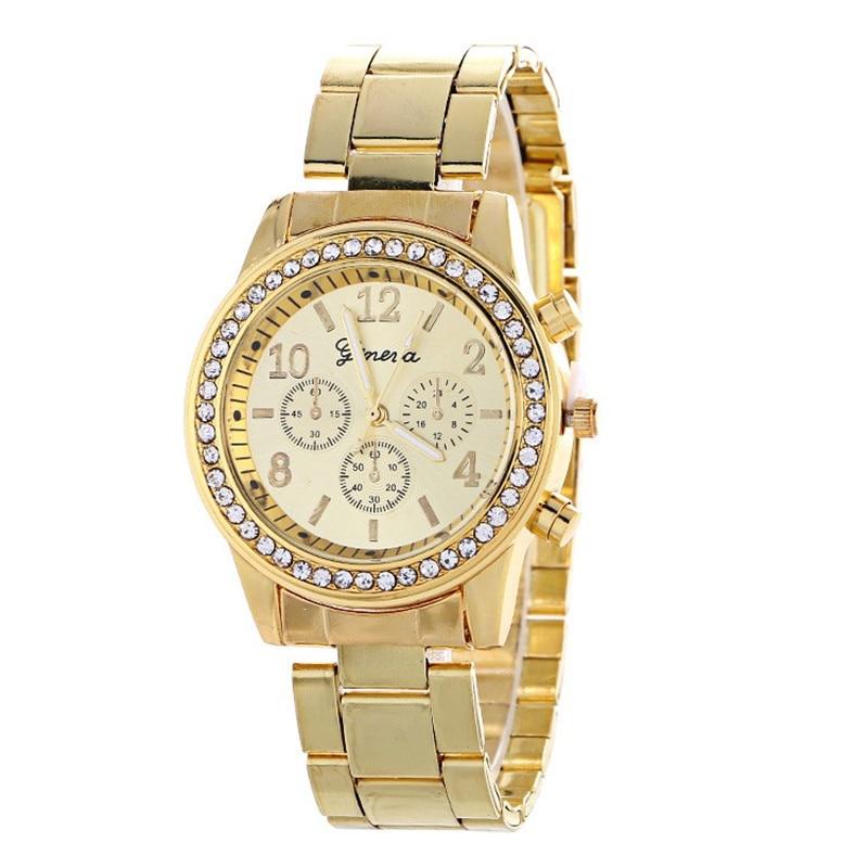 2019 Best Selling Women Watches Geneva Fashion Classic Hot Sale Luxury Stainless Steel Analog Quartz WristWatches relogio femini