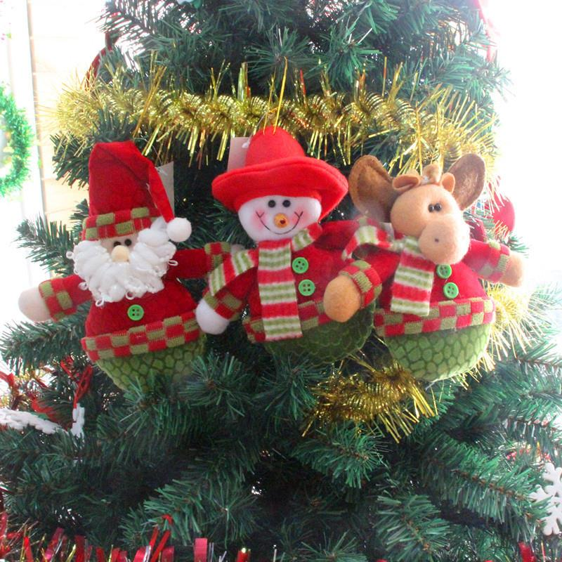 Colgante De árbol De Navidad para Navidad, adorno colgante De ciervo, muñeco...