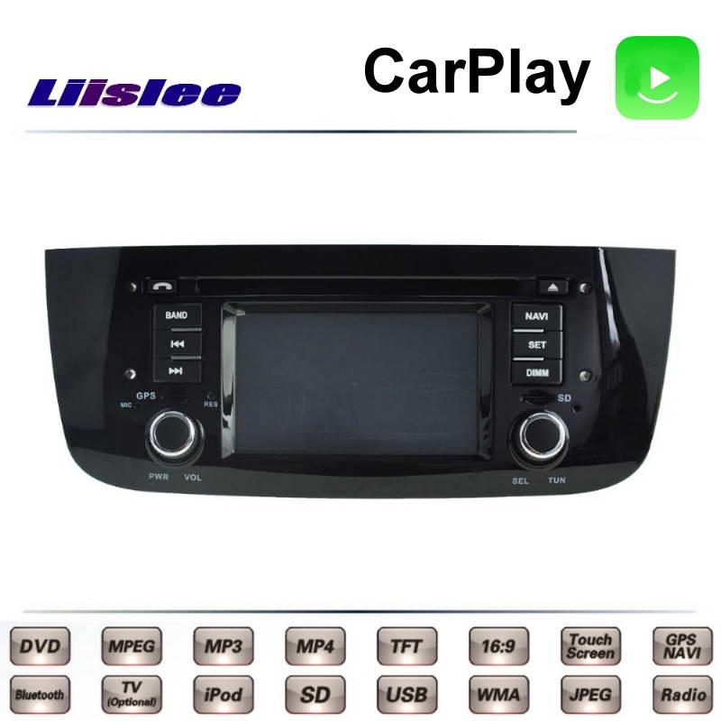 Fiat Grande Punto EVO Avventura 2009 ~ 2018 차량용 멀티미디어 TV DVD GPS 라디오 Carplay Original Style Navigation Liislee Navi