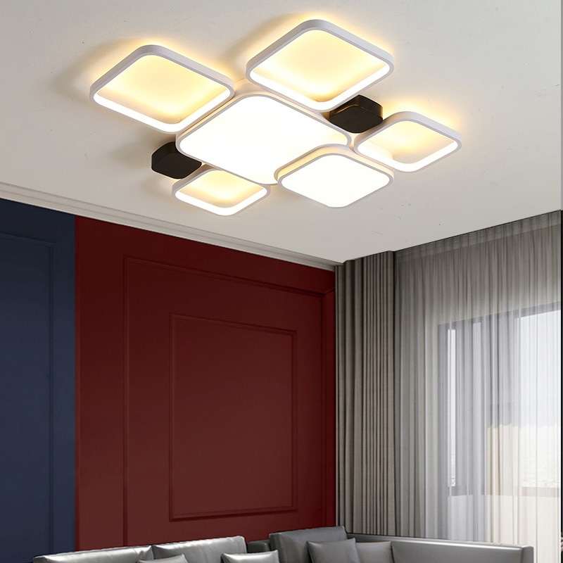 Bedroom Foyer Dining Room Studyroom Kitchen New Style LED Ceiling Lights Indoor Home Decorative LED Lamps AC90-260V Fixtures