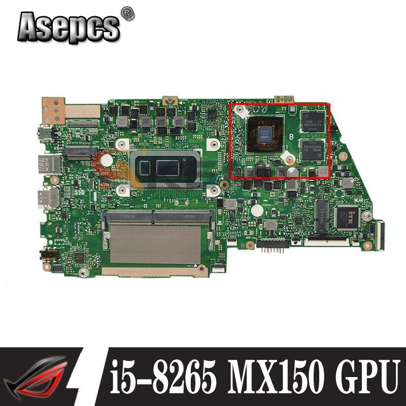 X430FN اللوحة ل asus VivoBook S14 X430 X430F X430FA A430F S4300F S4300FN X430FN Laptop Mainboard i5-8265 8G RAM MX150 GPU