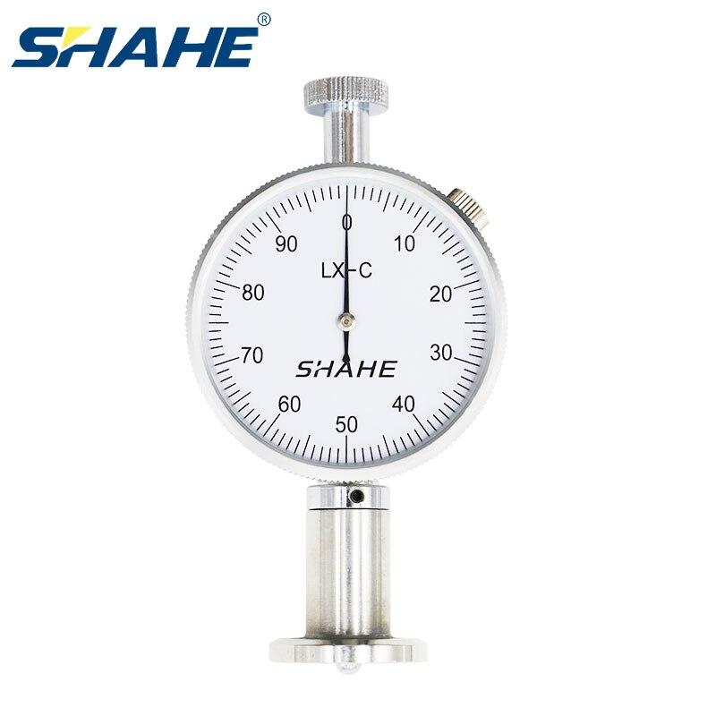 SHAHE LX-C-1 شور صلابة مقياس التحمل اختبار صلابة قياس لقياس صلابة عالية الدقة مقياس التحمل-صلابة-اختبار