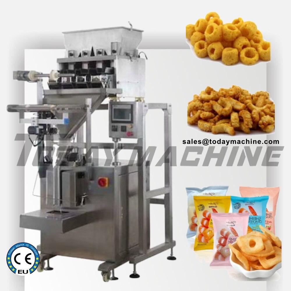 4 báscula lineal de granos de café/nueces/máquina de embalaje Granular