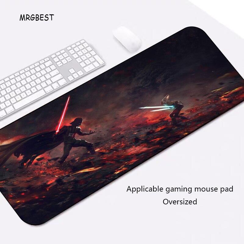 MRGBEST Heißer Verkauf Maus Pad Plus Größe Locking rand Maus Pad Kühle Sterne Wars PC Computer Notebook Schreibtisch Matte für gamer