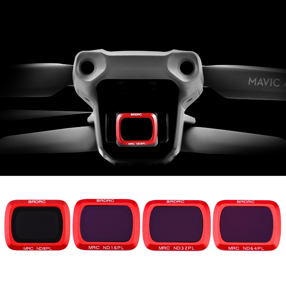 Adjustable Gimbal Lens Filter for DJI Mavic Air 2 Drone ND8-PL ND16-PL ND32-PL ND64-PL For Mavic Air 2 Lens Accessories