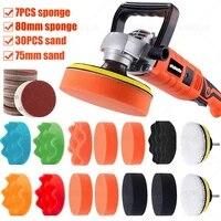 1273pcs car polishing kits 3 waxing sponge sandpaper polishing disc pad headlight refurbish repair wheel wood window polish