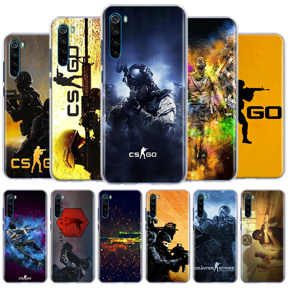 Чехол для телефона Counter Strike Global csgo cs go для Xiaomi Redmi 6 6A 7 7A 8 8A Note 6 7 8 Pro 8T 9 Pro MAX K20 K30 Pro Hard Case Co