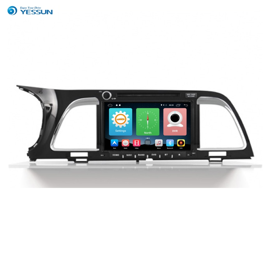 Yessun para Kia K4 2009 ~ 2017 Android navegación del coche GPS HD pantalla táctil reproductor estéreo Multimedia Audio Video Radio.