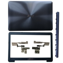 Para ASUS A555 X555 Y583 F555 K555 W509 F554 X554 R556 Laptop LCD contraportada/bisel frontal/bisagras/cubierta de bisagras/reposamanos/cubierta inferior