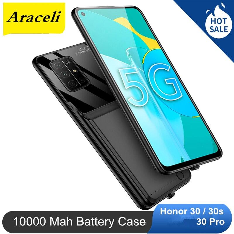 10000 Mah Voor Huawei Honor 30 30S 30 Pro Batterij Case Battery Backup Charger Cover Pack Power Bank Batterij case
