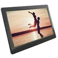 ips 8 inch digitale fotolijst full view scherm fotoalbum 1280720 klok kalender video speler