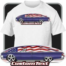 T-Shirt dart personnalisé inspiré de 1963 64 Lincoln Continental Convertible haut ouvert