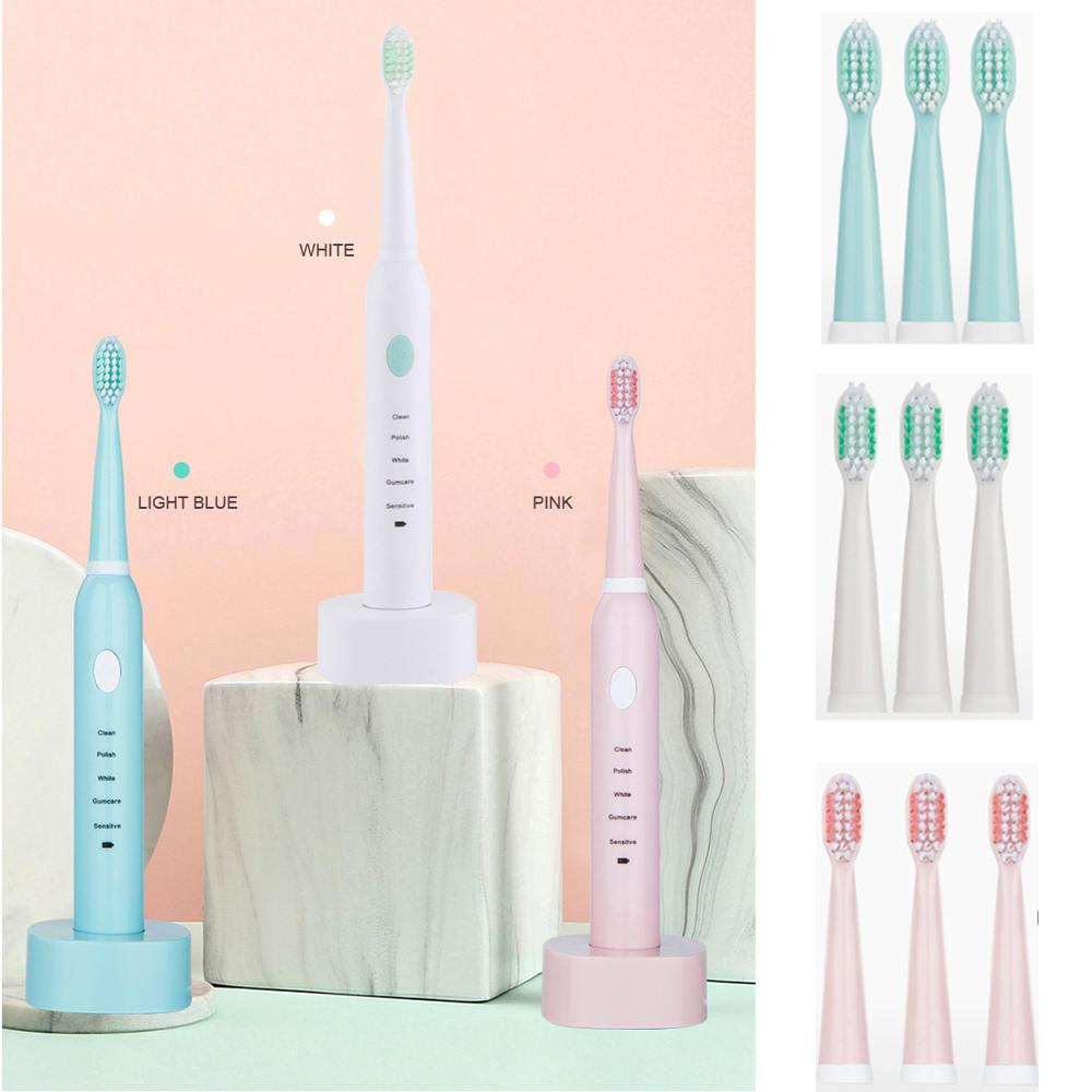 Popular electric toothbrush removes tooth stains, fresh breath, clean and comfortable, easy to use