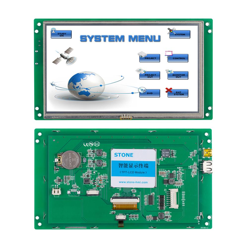 7 Inch High Resolution LCD Beauty Equipment Touch Module