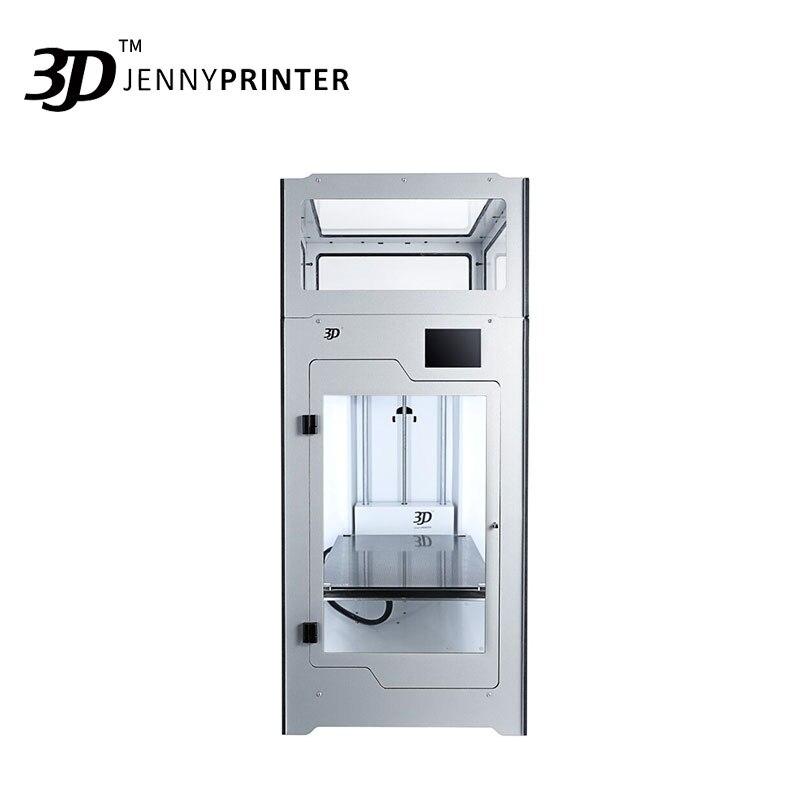 o mais novo jennyprinter4 z370 dupla extrusora com tela de toque nivel automatico