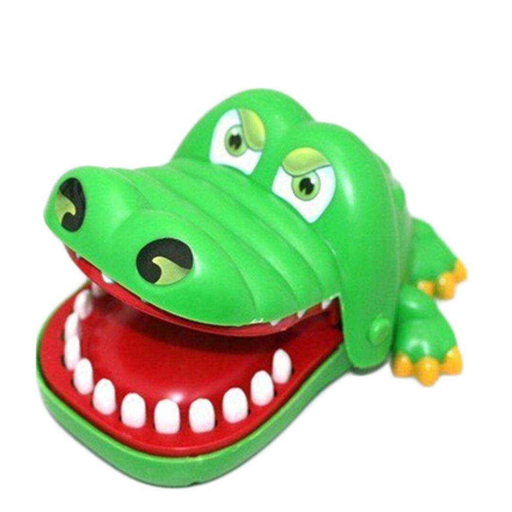 2017 hot crocodile jokes mouth dentist bite finger game joke fun funny crocodile toy antistress gift kids child family prank toy Crocodile Mouth Dentist Bite Finger Toy Funny Pulling Crocodile Teeth Game Gags Toy for Kids Play Fun Children Gift Small Size