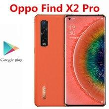 "Téléphone portable dorigine Oppo Find X2 Pro 5G 48.0MP + 48.0MP + 12.0MP + 32.0MP 6.7 ""120HZ 65W chargeur Snapdragon 865 12GB RAM 256GB ROM"