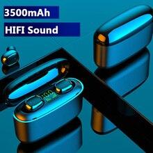 Sylas TWS Bluetooth sans fil écouteurs étanche casque pour Xiomi Huawei G5S 9D affaires sport écouteurs sans fil casque