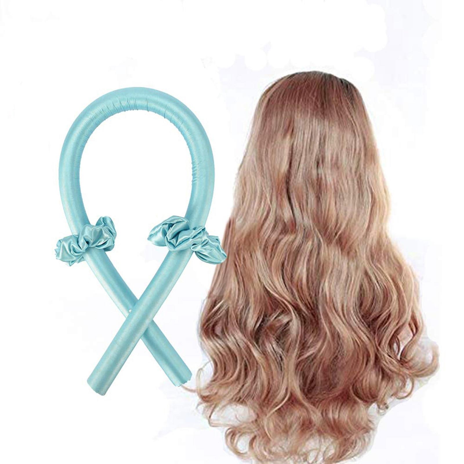 3PCS/Set Heatless Hair Curlers For Long Hair To Sleep In Overnight and No Heat Silk Curls Headband w