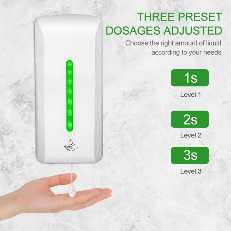 Máquina de desinfección de manos sin contacto de 10000ml, dispensador automático de jabón inteligente para el hogar, Sensor de pared, desinfectante de manos, desinfección