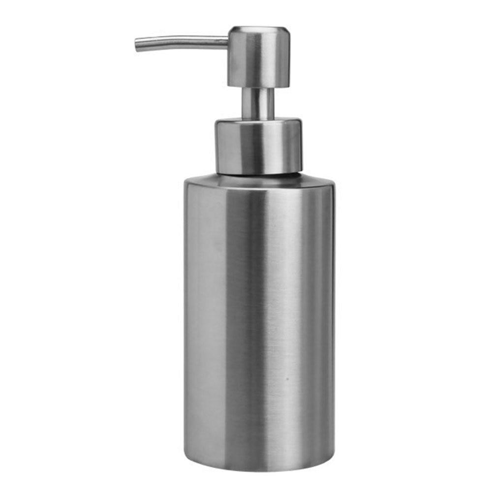 Botella de loción de acero inoxidable, botella de ducha de oro rosa, botella de espray ajustable multifunción para el día a día