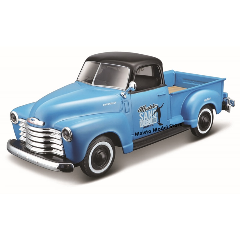 Maisto 1:24 Modified version 1950 Chevrolet 3100 Pickup Highly-detailed die-cast precision model car Model collection gift