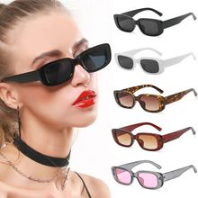 Fashion Vintage Travel Square Sun Glasses Retro Women's Sunglasses Luxury Brand Rectangle Men Sungla