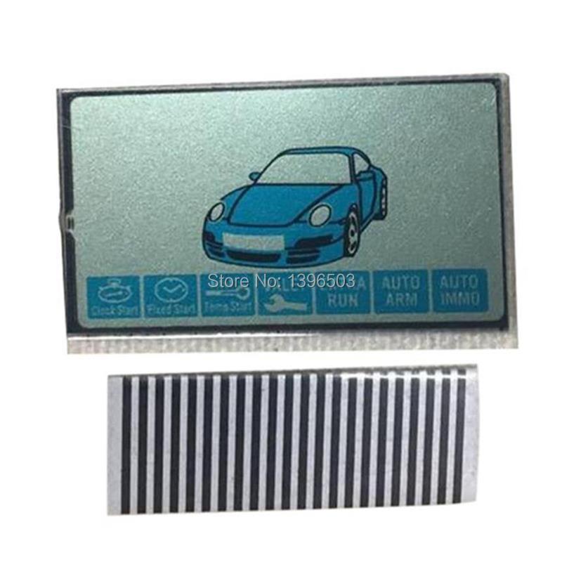 Venta al por mayor 2 uds B9 cable flexible pantalla LCD para 2 uds llavero Rusia Starline B9 llave remota Jaguar ez-one KGB FX-7 EX-8 FX7