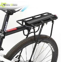 Porte-bagages de vélo porte-bagages arrière en aluminium porte-sac de selle de cyclisme pour vélos de 20-29 pouces avec outils dinstallation