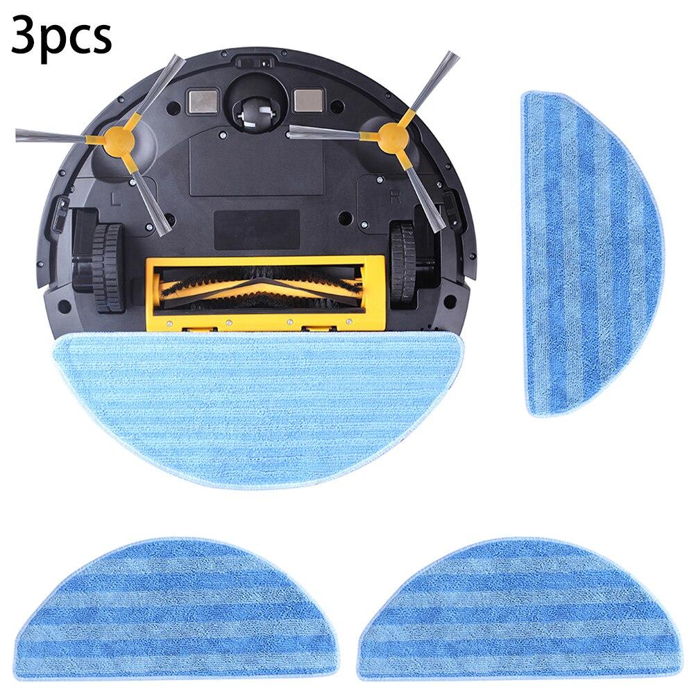 3 pçs panos mop (para liectroux e30) liectroux original mop para robô aspirador de pó liectroux e30 acessórios