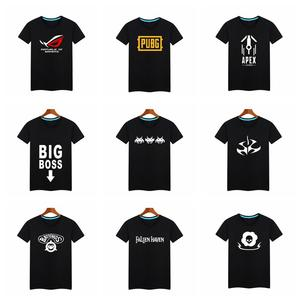 game fans cotton t shirts game short t shirt casual various game concept t shirt