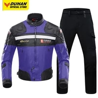 duhan motorcycle jacket motocross jacket remove keep warm liner waterproof all seasons moto cycling chaqueta body protection