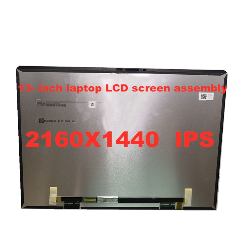 Nueva pantalla original LCD IPS para portátil de 13 pulgadas para Huawei MateBook 13 WRT-W19 WRT-W29 resolución 2160x1440 UHD