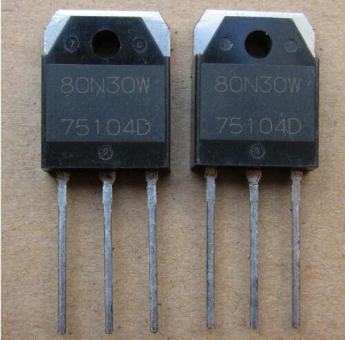 New 80N30W 80N30 TO-3P 10pcs/lot