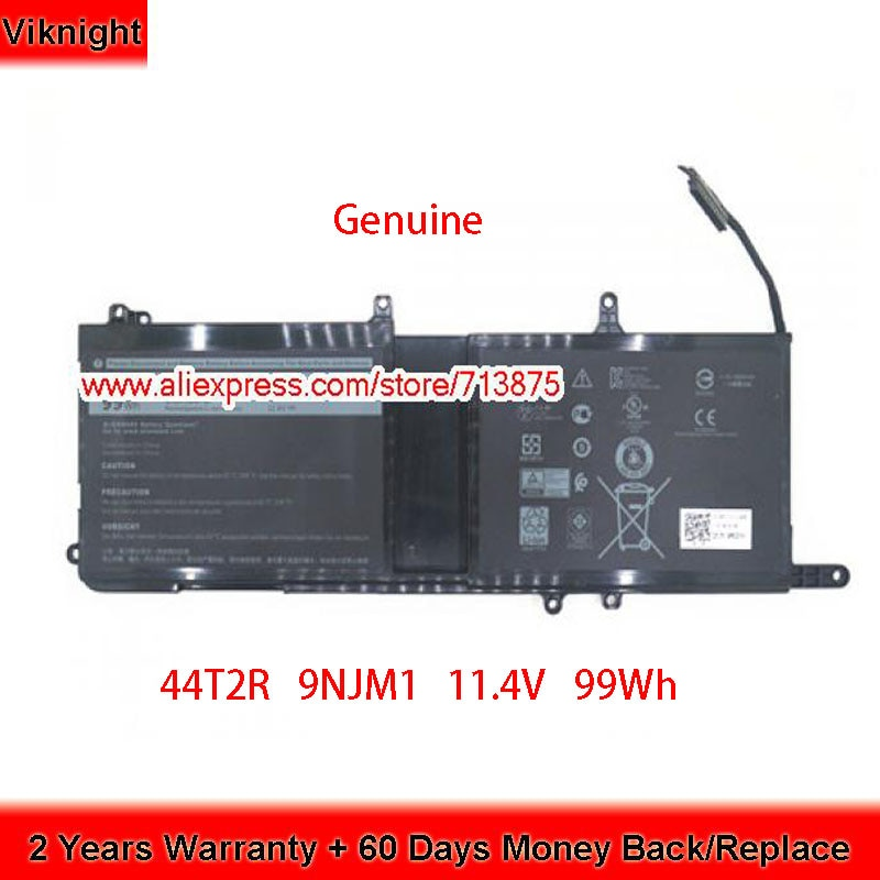 Genuine 44T2R 9NJM1 HF250 Battery for Dell ALIENWARE 17R4 15 2018 15 R3 15 R4 ALW17C 11.4V 99Wh