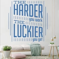 large motivational office quotes phrase vinyl stickers for living room bedroom parlor office art wallpaper decals decor hq1159