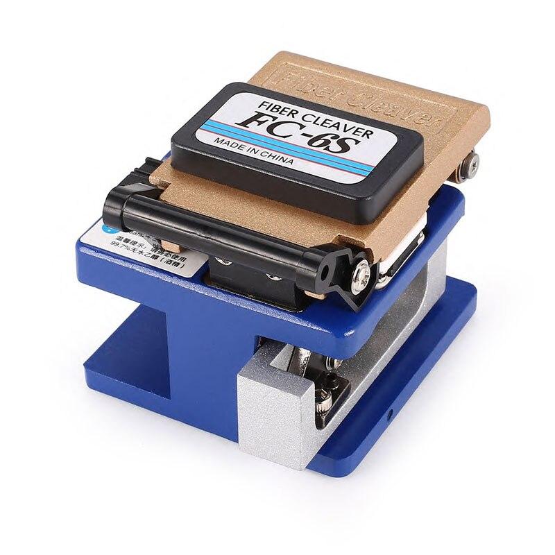 Ftth أداة الألياف الساطور FC 6S الألياف البصرية قطع سكين الألياف البصرية القاطع الباردة الاتصال مخصصة المعادن