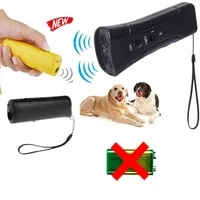 home dog anti barking repeller led flashlight with ultrasonic chein deterrent device household tools pet training product supply