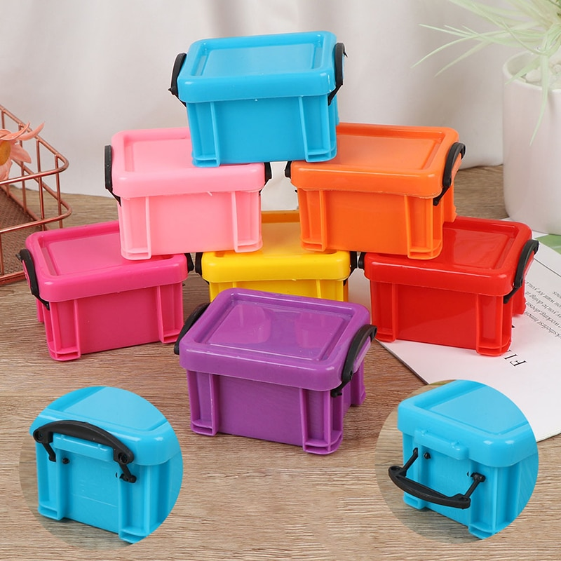 Mini caixa de trompete para alimentos, caixa de trompete colorida de doces, caixa de super armazenamento para festa de casamento, lembrancinha de artigos diversos