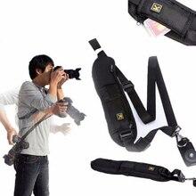 Nouvelle sangle de caméra dépaule Portable pour appareil photo reflex numérique DSLR Sonys rapide accessoires de caméra ceinture de sangle de cou