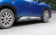 For Mazda CX-5 CX5 2013 2014 2015 2016 accessories 4pcs/set ABS Chrome Plastic Side Molding Cover Trim Door Body Kits