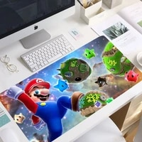 900x400mm mario mouse pad carpet to mouse computer mouse pad christmas gifts gaming padmouse high quality keyboard non skid mat